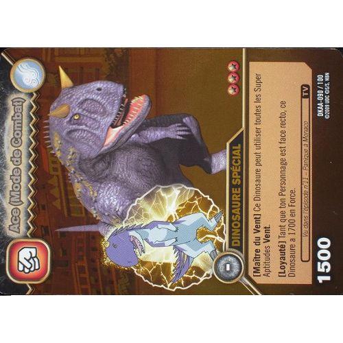 Carte Dinosaur King Ace(Mode De Combat) Dkaa-090/100 Holo dedans Jeux De Dino King