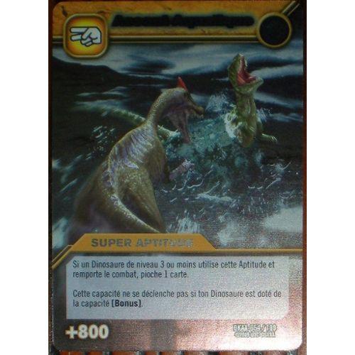 Carte Dinosaur King Assaut Aquatique Dkaa-054/100 Holo encequiconcerne Jeux De Dino King
