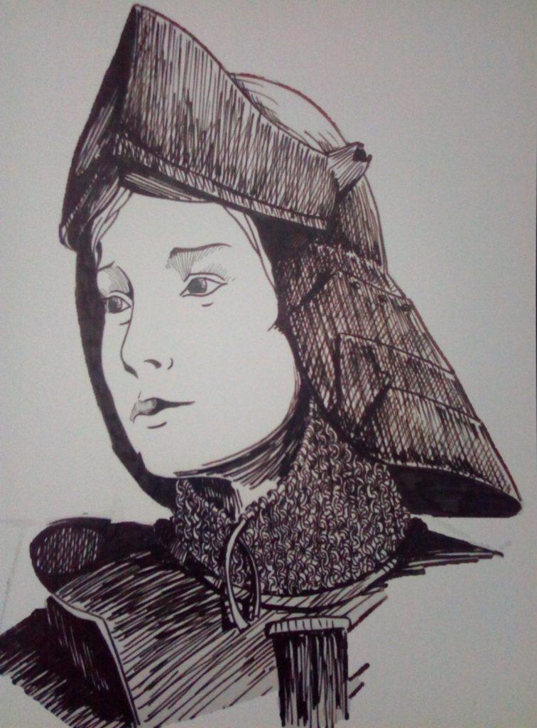 Carte Postale Ste Jeanne D'Arc. - Civitas à Dessin Magique Ste Jeanne D'Arc