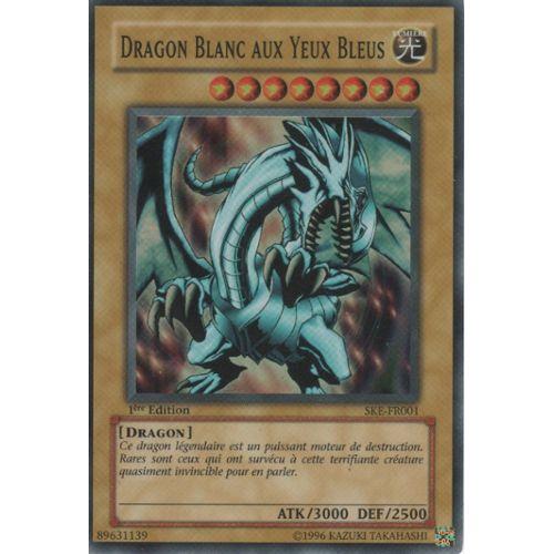"""Carte Yu-Gi-Oh! """"Dragon Blanc Aux Yeux Bleus"""" Super Rare à Coloriage Yu Gi Oh Dragon Blanc Aux Yeux Bleus"""