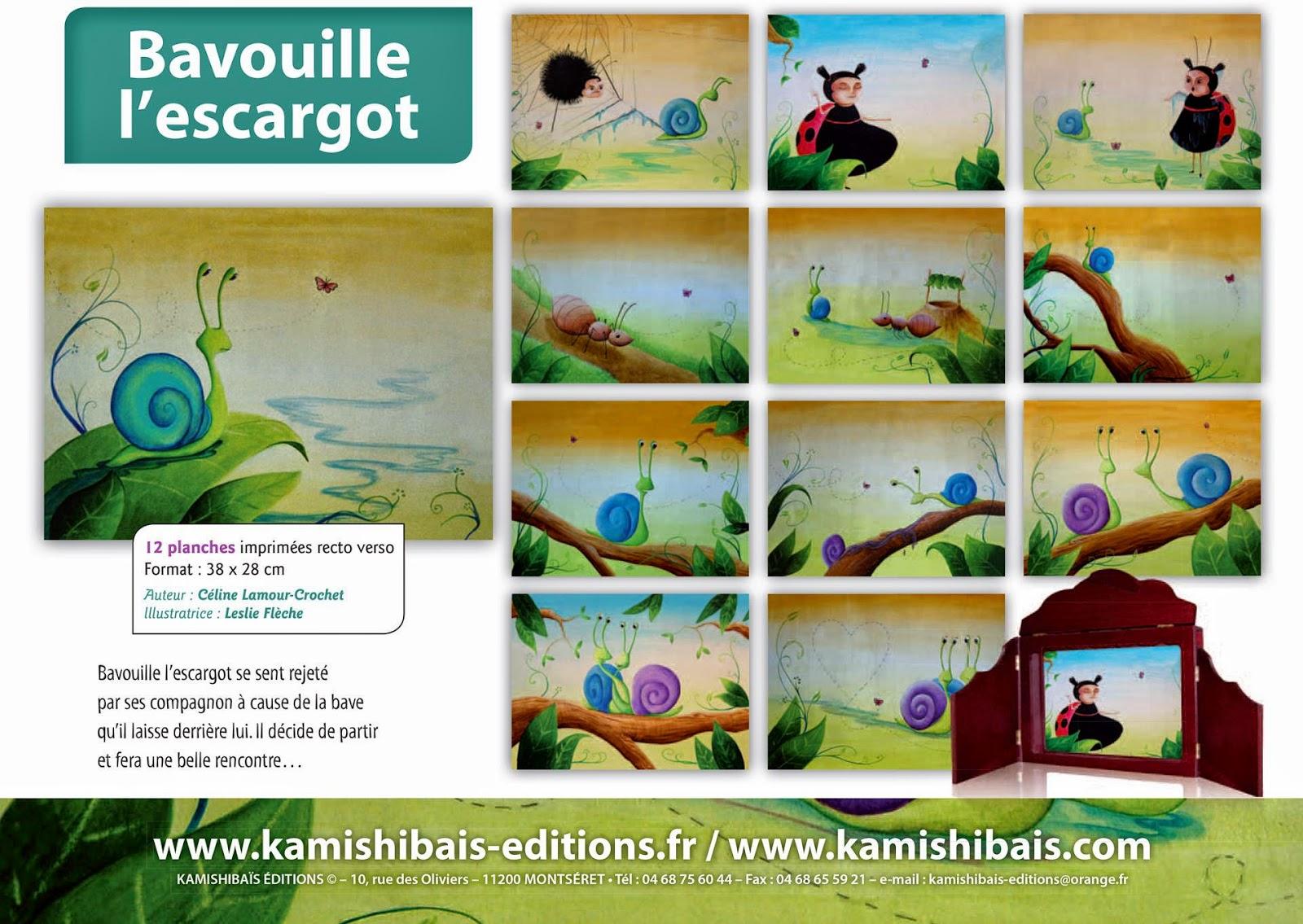 Céline Lamour-Crochet: Thème La Nature destiné Jojo L Escargot
