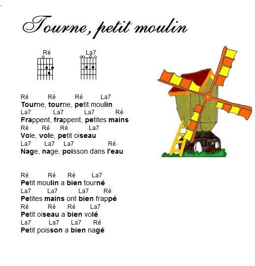 Cemaf-Firminy - Travail Avec Vidéo serapportantà Tourne Tourne Petit Moulin