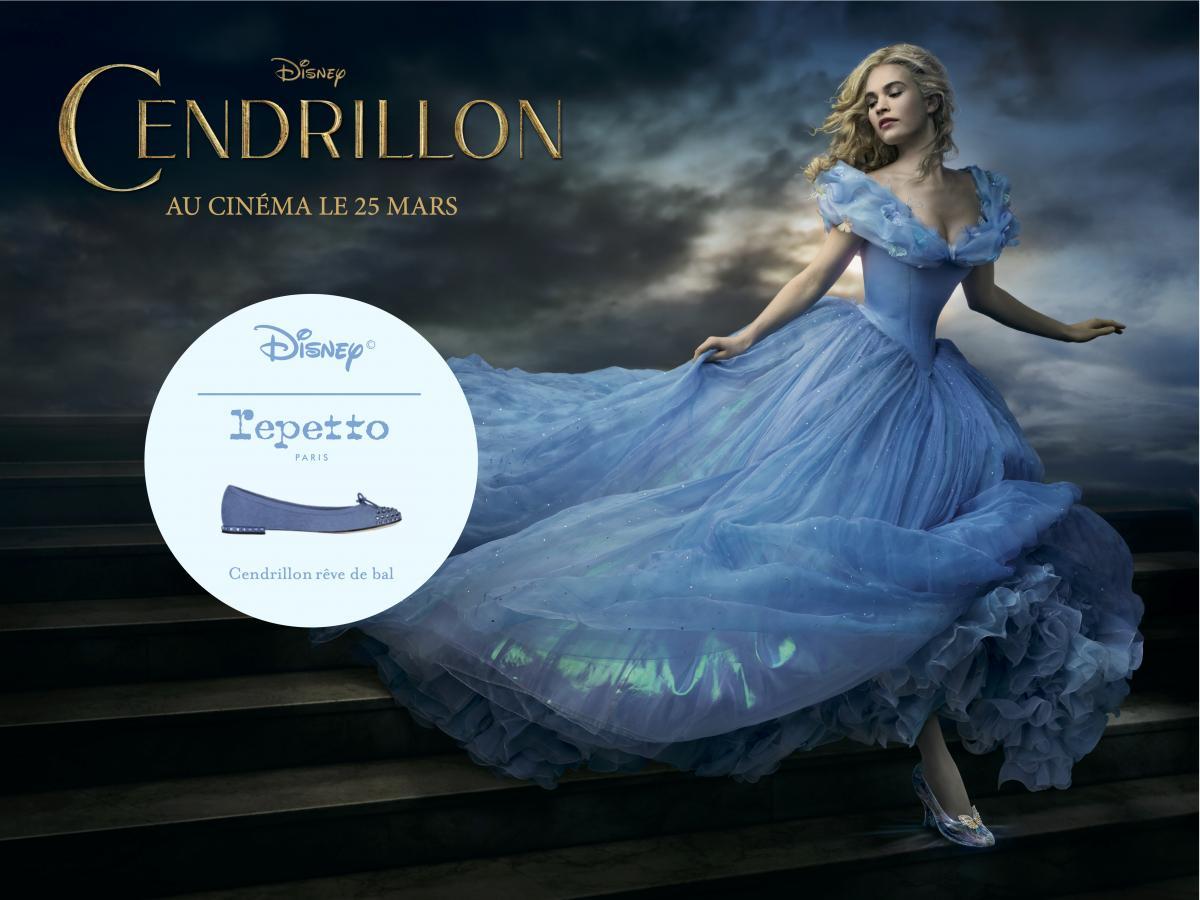 Cendrillon En Repetto – The Girl Behind The Advertising encequiconcerne Le Portrait De Cendrillon