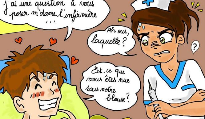 Ces 15 Dessins Décrivent Beaucoup Trop Bien Les Infirmières destiné Dessin Humoristique Infirmière