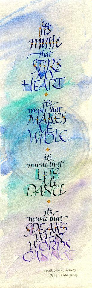 C'Est La Musique Qui Réjouit Mon Cœur.. | Citations serapportantà Je Pense A Toi Chanson