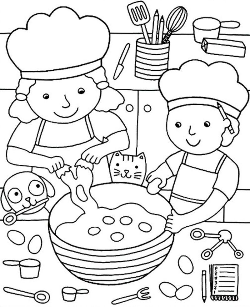 Chandeleur Et Crêpes | Livre De Couleur, Coloriage Et tout Dessins Enfants A Colorier