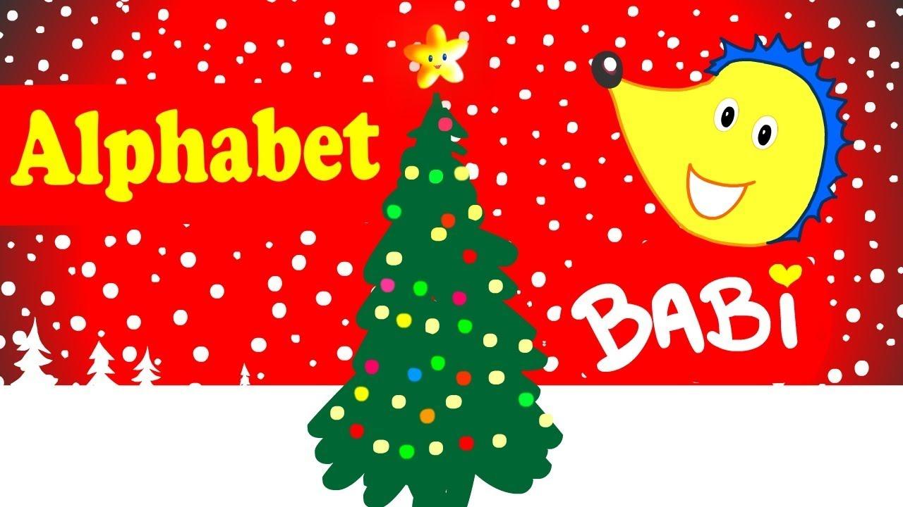 Chanson De L'Alphabet -🎄 Noel - French Abc Song! Babi, Le dedans Le Hérisson Chanson