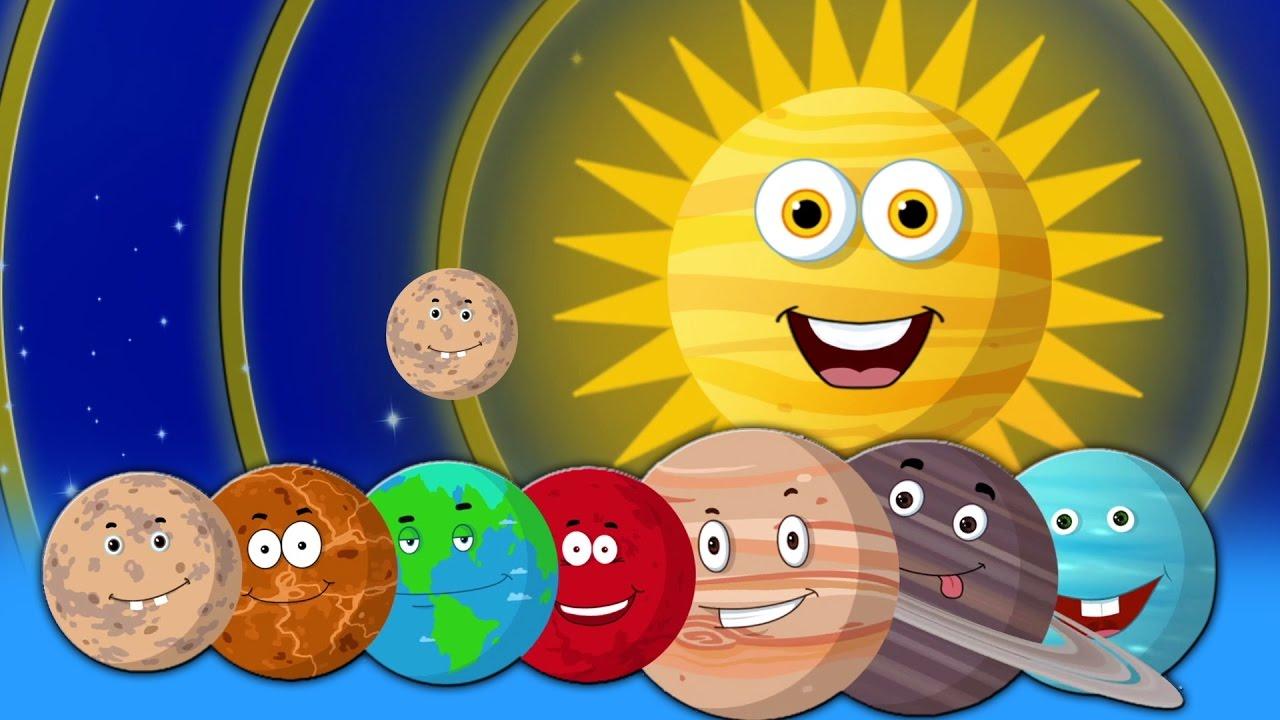 Chanson Des Planètes | Chanson De La Maternelle | Rimes D intérieur Les Chanson Pour Les Bébé