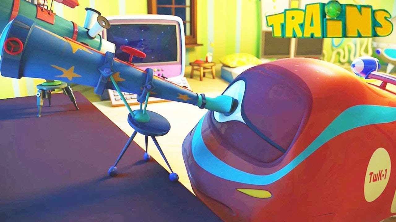 Chanson Ethan L'Astrologue - Trains - Dessin Animé Pour destiné Dessin Animé Train Thomas