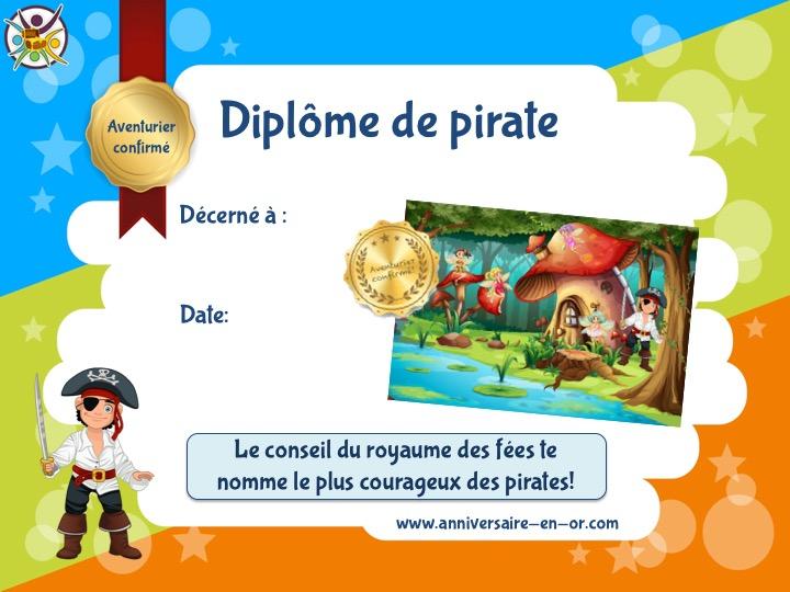 Chasse Au Trésor Des Pirates Et Des Fées (6-7 Ans) - Un dedans Chasse Au Tresors Theme Des Pirates