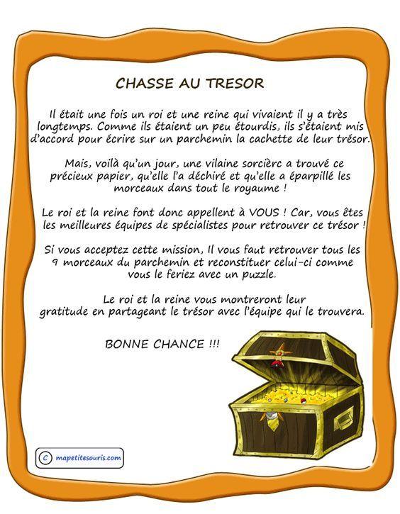 Chasse-Au-Tresor-Roi-Reine | Chasse Au Trésor, Jeux De serapportantà Chasse Au Tr?Sor Gratuite Pdf