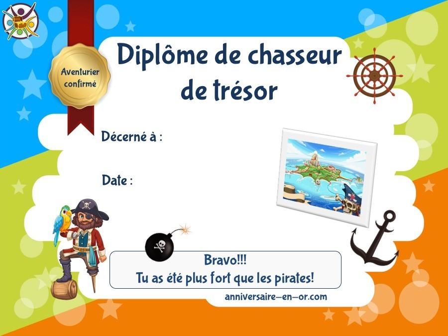 Chasse Au Trésor Sur L'Île Aux Pirates (6-7 Ans) - Un concernant Chasse Au Tr?Sor Gratuite Pdf