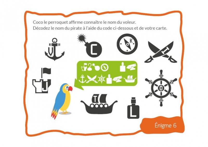 Chasses Au Trésor Pirate Pour Un Anniversaire dedans Chasse Au Tresors Theme Des Pirates