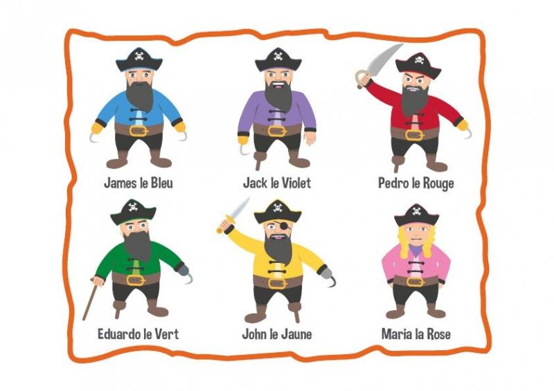 Chasses Au Trésor Pirate Pour Un Anniversaire pour Chasse Au Tresors Theme Des Pirates
