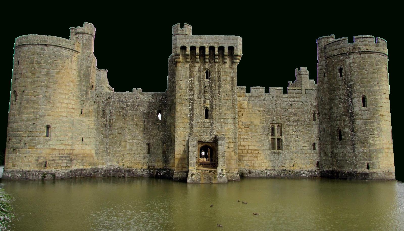 Château Bodiam, Merveille De L'Architecture Médiévale concernant Dessin Chateau Moyen Age