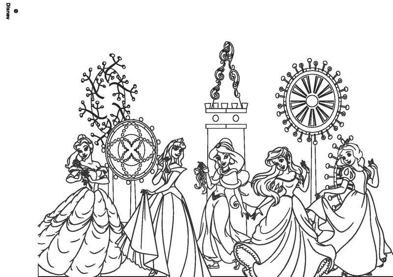Chateau De Princesse Disney A Colorier - Jobstips à Coloriage Chateau Princesse