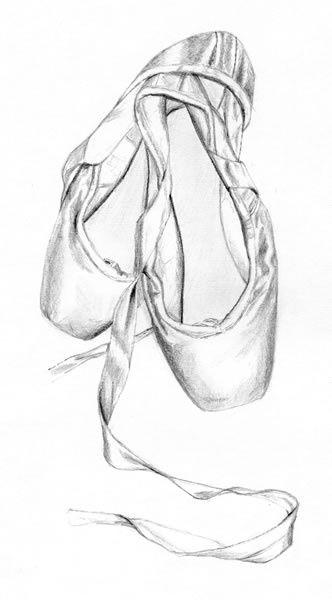 Chaussons De Danse | Chausson De Danse Classique, Dessin destiné Dessin Danseuse Classique