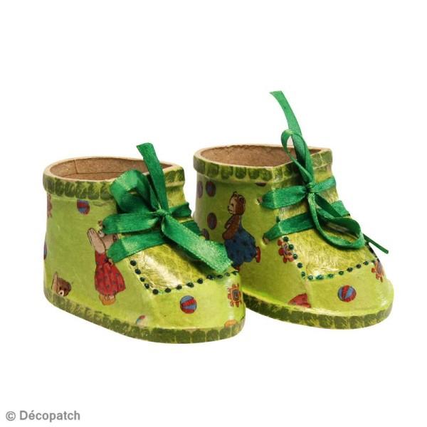 Chaussures De Poupée En Papier Mâché - Objets Divers À avec Objets En Papier Maché