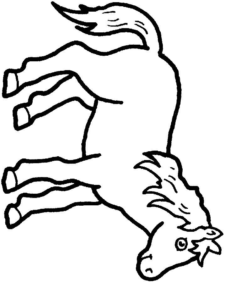 Chevaux - Coloriage concernant Coloriages De Chevaux