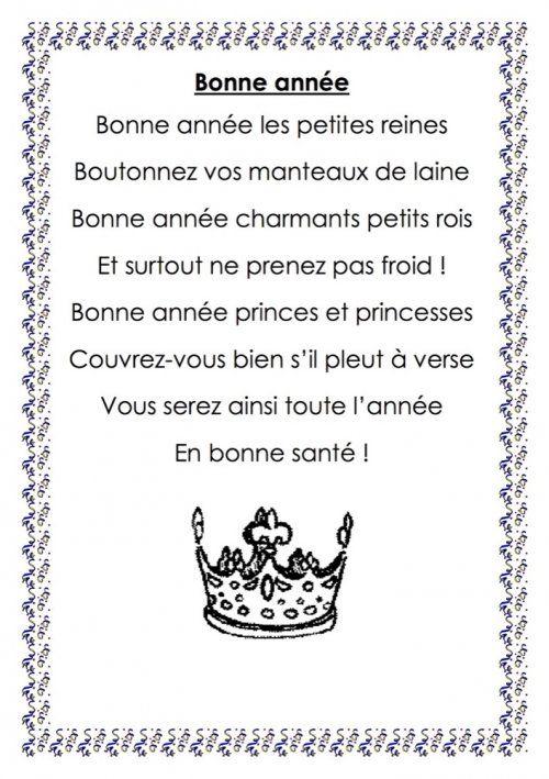 """Citation Bonne Année 2019 : Comptine : """"Bonne Année intérieur Poeme De Regime De Nouvelle Annee"""