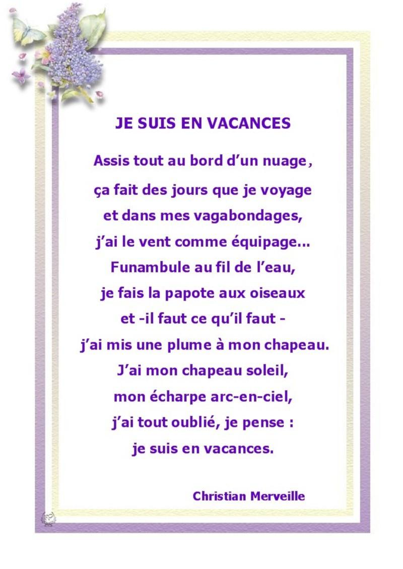 Citations - Page 18 concernant Vacances Poesie