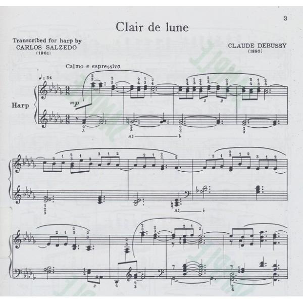 Clair De Lune - Debussy Arr. Salzedo serapportantà Clair De Lune Debussy