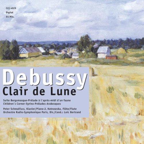 Clair De Lune U.a. De Claude Debussy avec Au Clair De La Lune Text