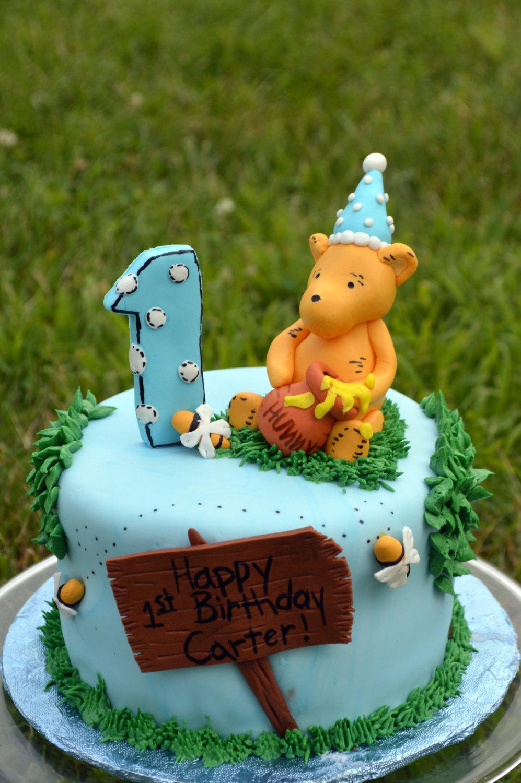 Classic Winnie The Pooh Cake Decorating Kit 100% Edible pour Pooh Gateau