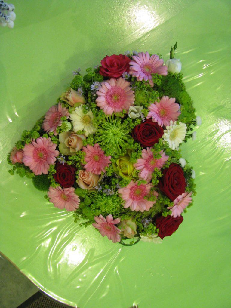 Coeur Simple - Fleuriste À Bonnat Et Livraison : Mon serapportantà Ma Main Est Une Fleur