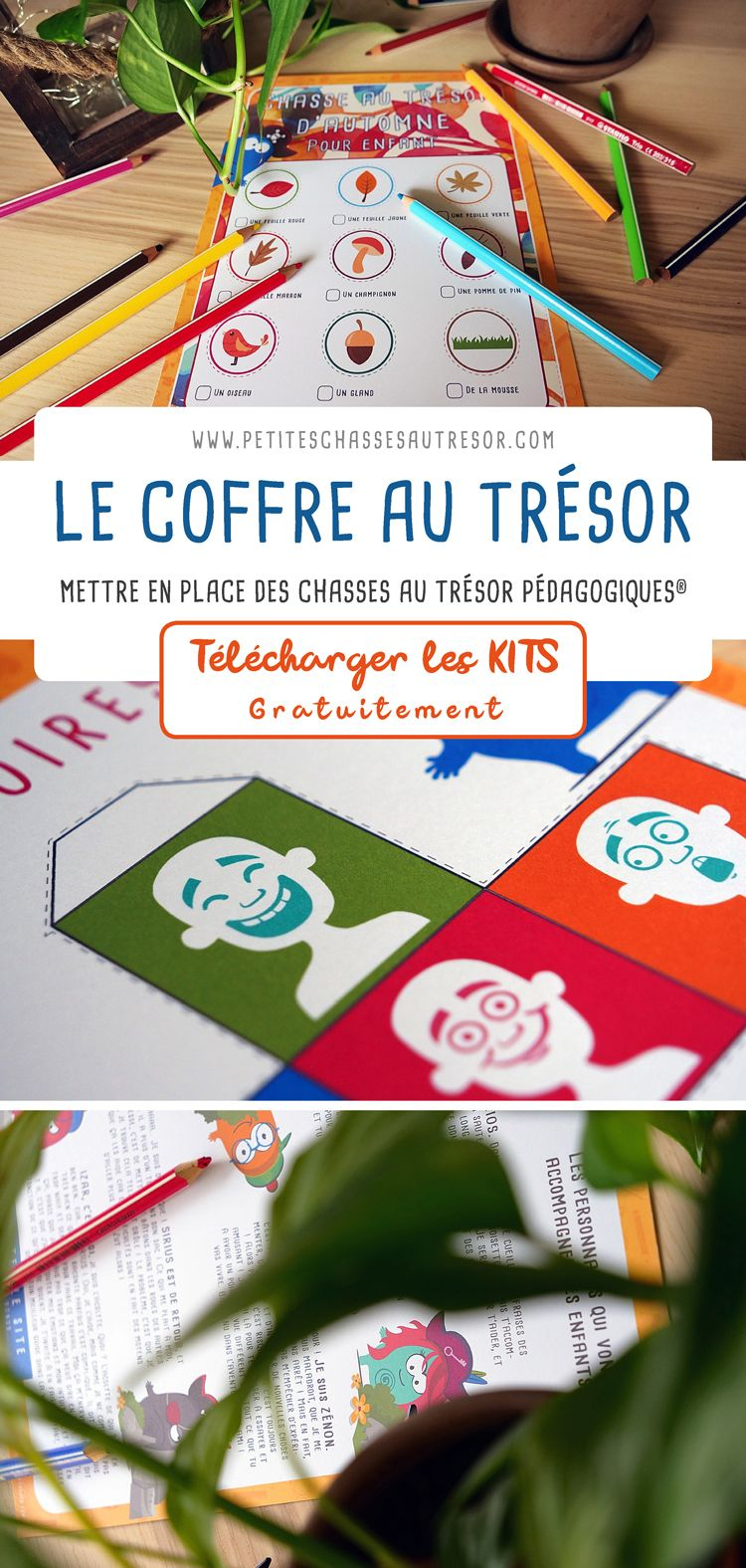Coffre Au Trésor D'Activités Montessori Pour Enfants intérieur Comment Fabriquer Un Coffre Au Trésor