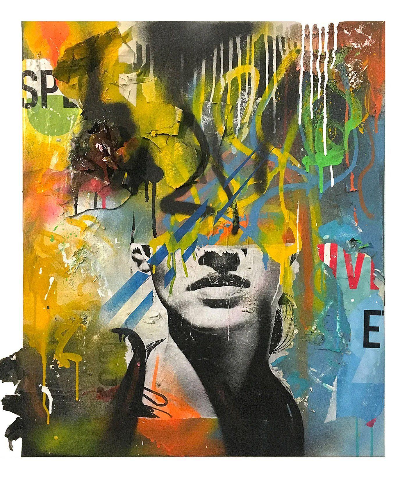 Collage Artworks By Joachim Romain – Inspiration Grid serapportantà Graffiti Romain