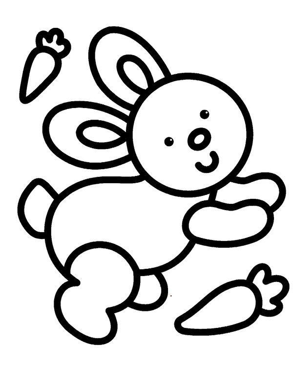 Coloriage 2 Ans | Coloriage Bébé, Coloriage Enfant destiné Coloriage Facile