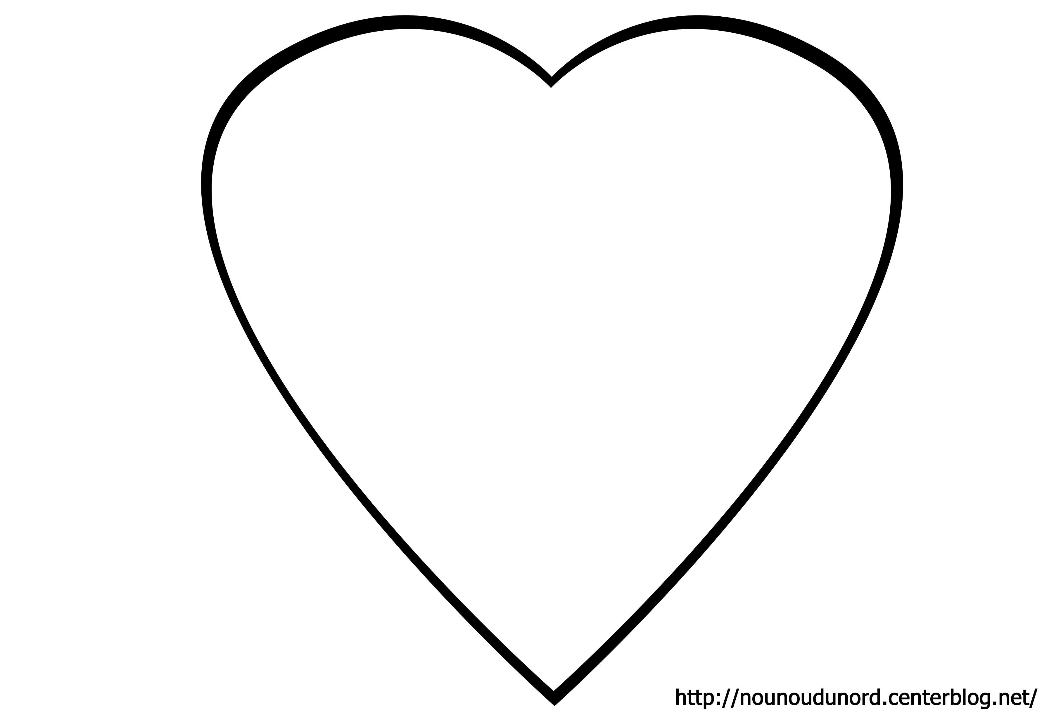 Coloriage à Dessiner Coeur Arc En Ciel avec Coloriage Coeur À Imprimer Gratuit