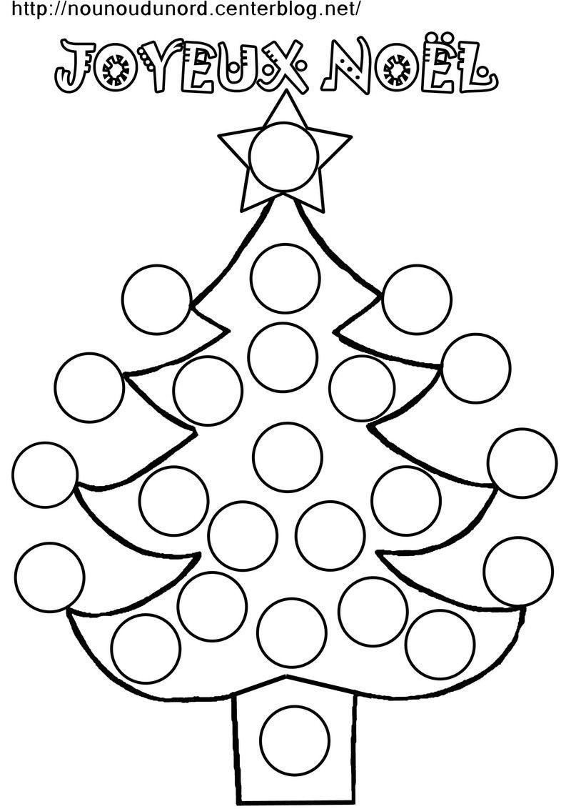 Coloriage À Gommettes Le Sapin De Noël | Coloriage Noel avec Coloriage De Sapin De Noel A Imprimer Gratuit