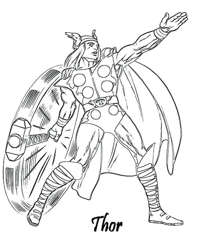 Coloriage A Imprimer Avengers Thor Et Son Marteau Gratuit serapportantà Coloriage Helicoptere A Imprimer Gratuit