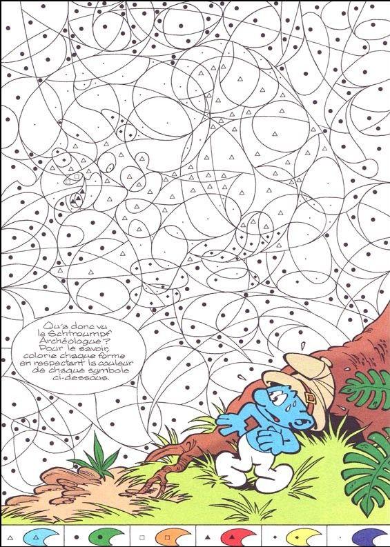 Coloriage A Imprimer Coloriage Magique Schtroumpf Gratuit pour Jeux De Coloriage Gratuit Pour Adulte