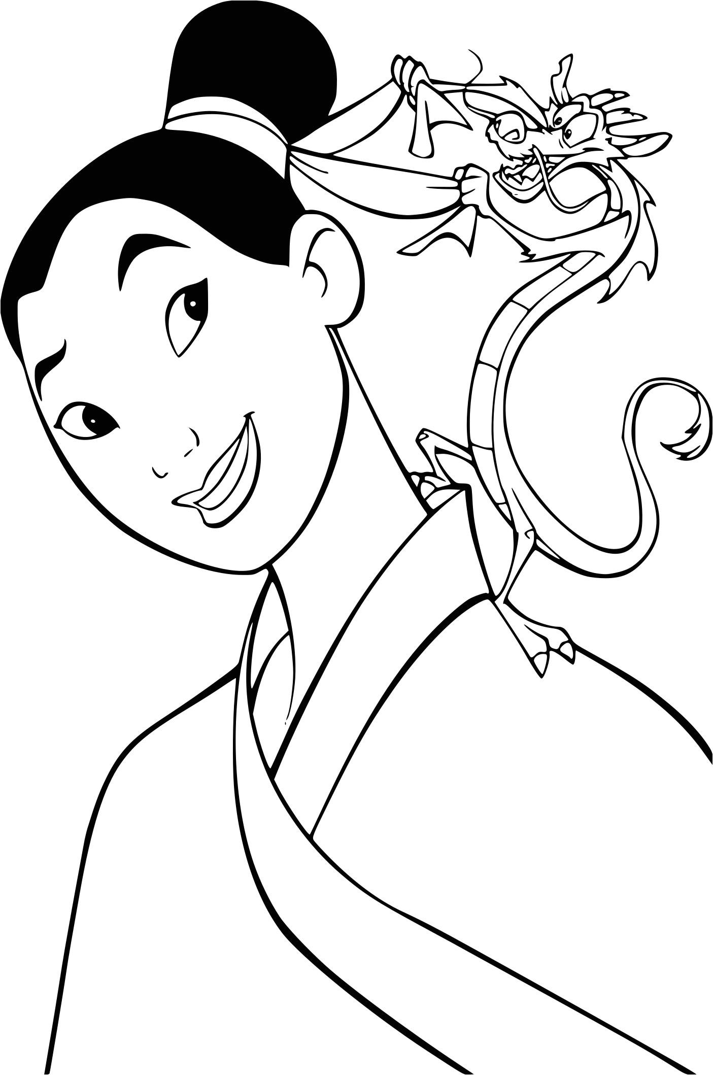 Coloriage A Imprimer Mulan Coloriage Mulan A Imprimer serapportantà Coloriage Mulan A Imprimer