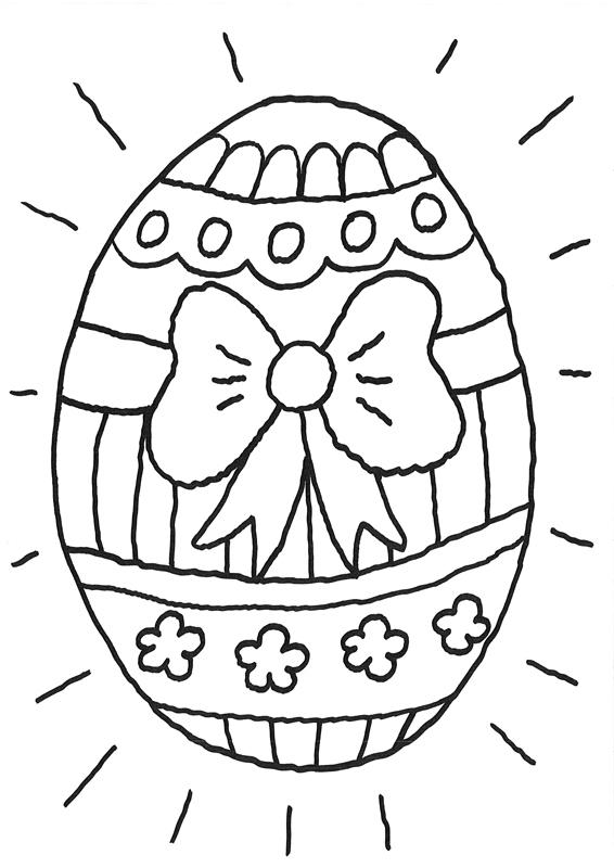 Coloriage À Imprimer : Oeuf De Pâques Géant intérieur Coloriage Paques Gratuit A Imprimer