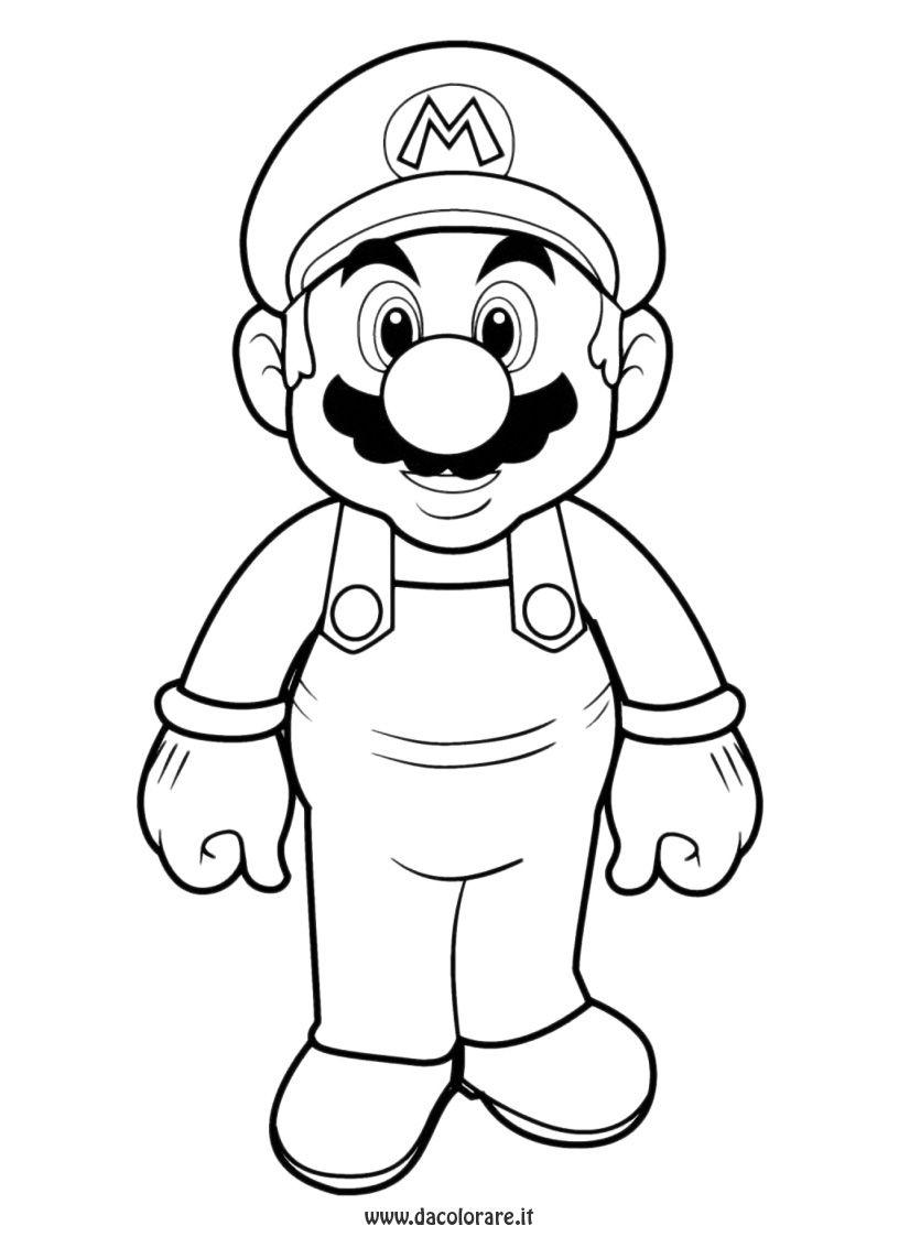 Coloriage À Imprimer : Personnages Célèbres - Nintendo serapportantà Dessin Gommette A Imprimer