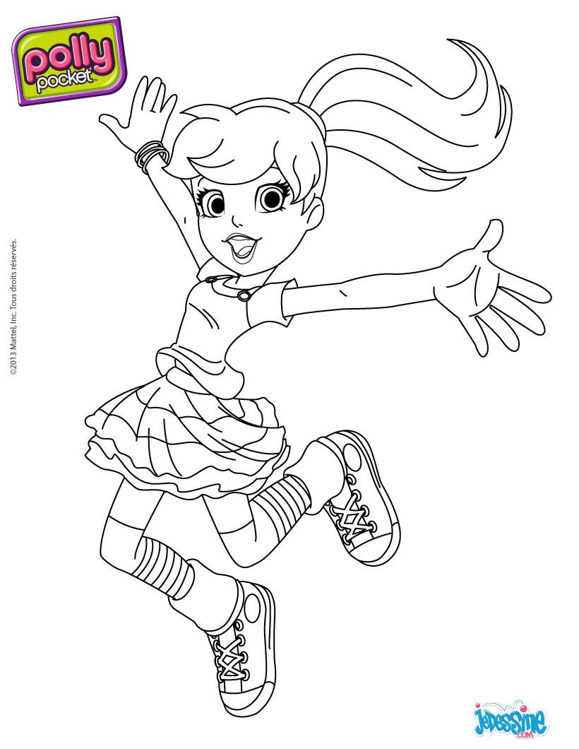 Coloriage À Imprimer Polly Pocket | Danieguto encequiconcerne Coloriage Polly Pocket Gratuit A Imprimer