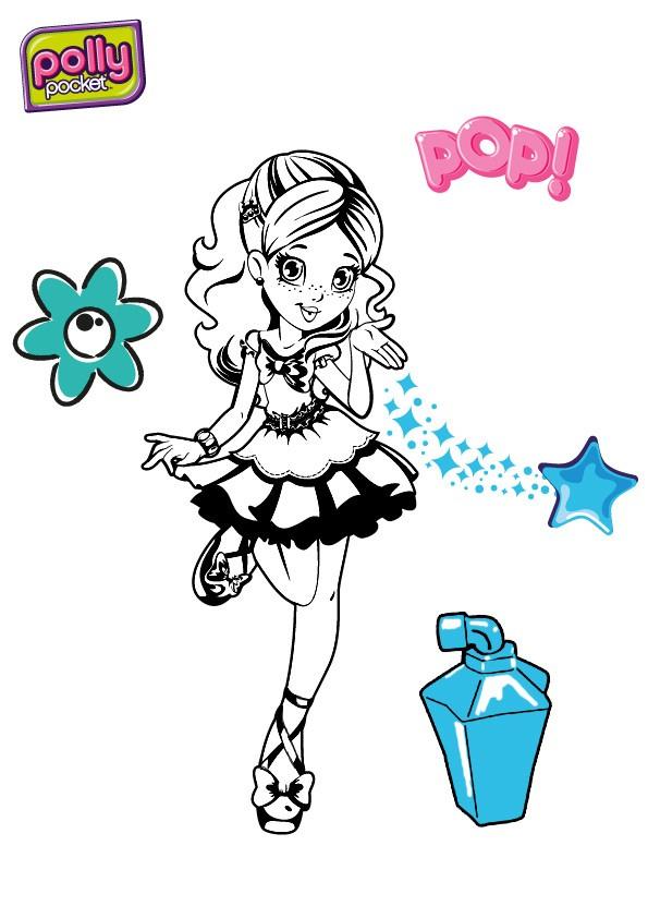 Coloriage A Imprimer Polly Pocket - Jobstips dedans Coloriage Polly Pocket Gratuit A Imprimer