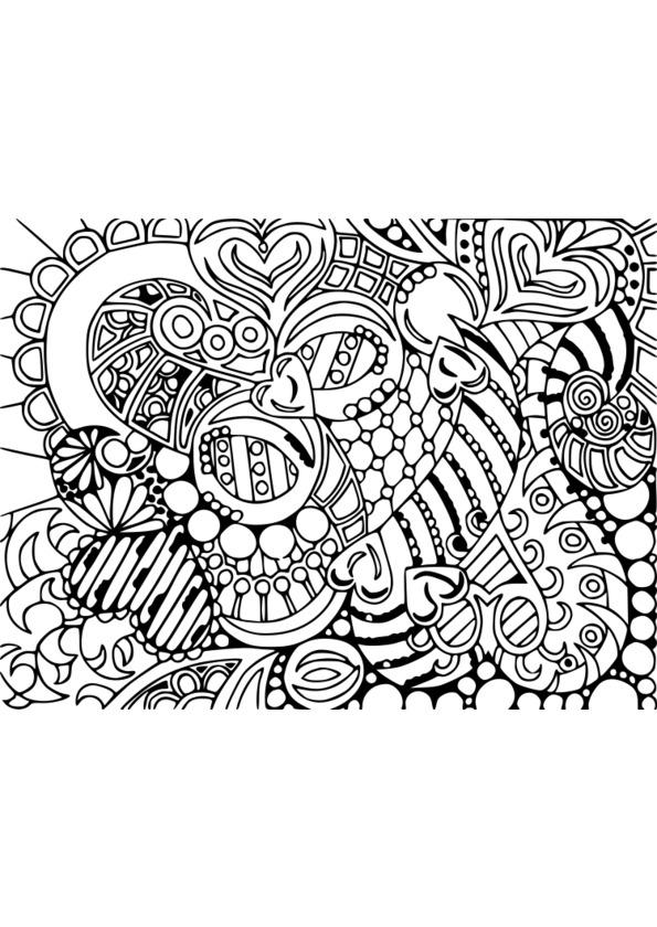 Coloriage Adulte Art Therapie concernant Coloriage Anti Stress Adulte A Imprimer