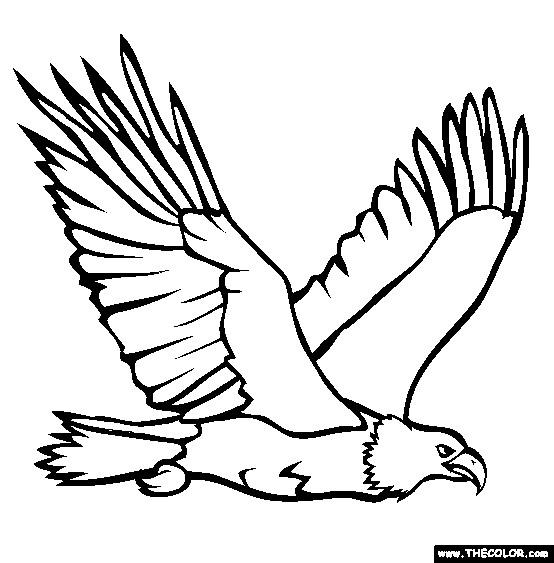 Coloriage Aigle 2 Dessin Gratuit À Imprimer pour Coloriage Aigle A Imprimer Gratuit