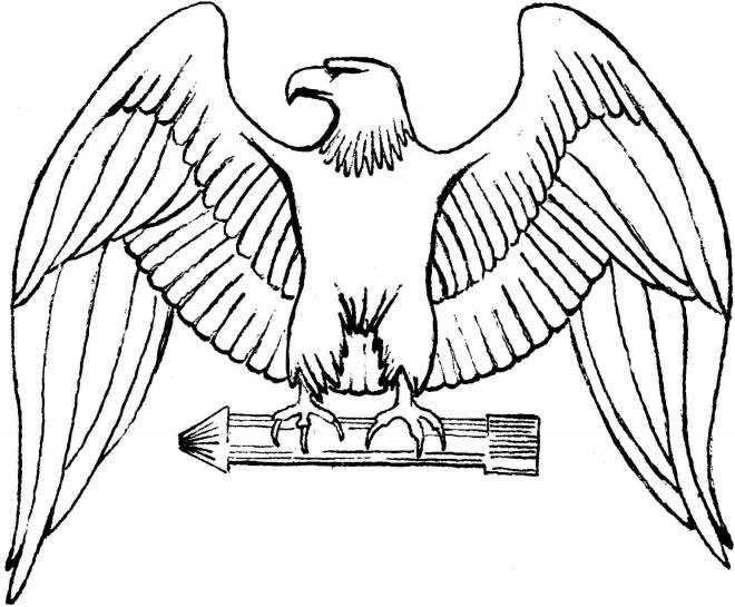 Coloriage Aigle Royal Dessin Gratuit À Imprimer – 123Coloriage serapportantà Coloriage Aigle A Imprimer Gratuit