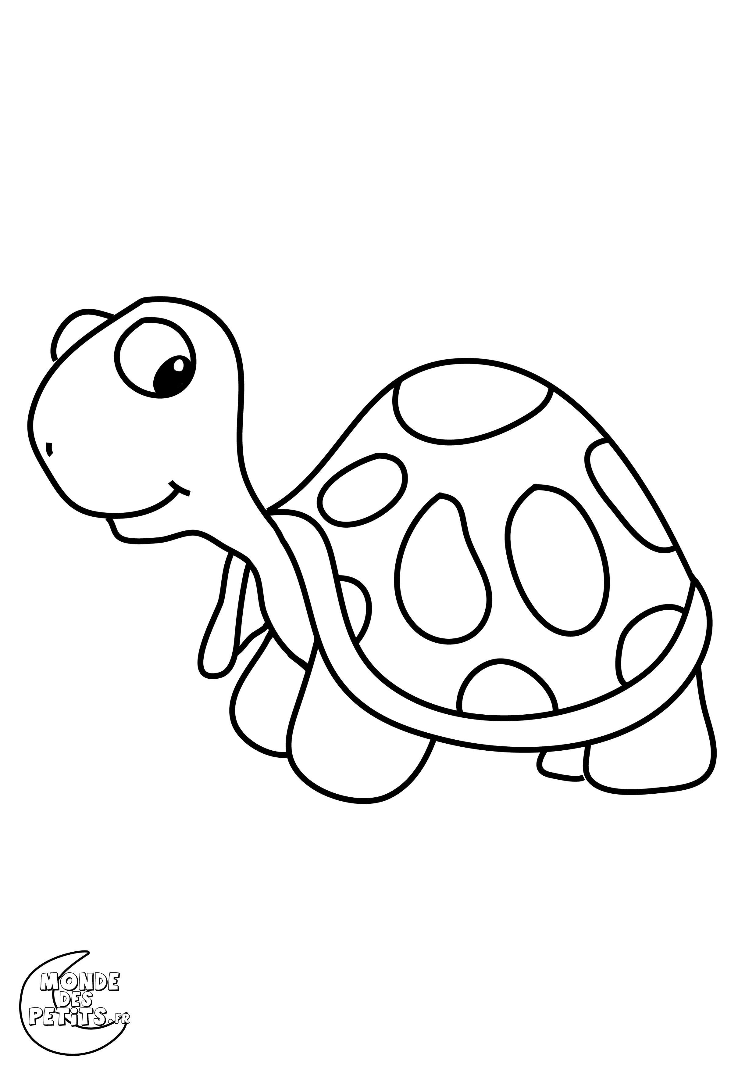 Coloriage Animaux À Colorier - Dessin À Imprimer | Zoo concernant Dessin Enfant A Colorier