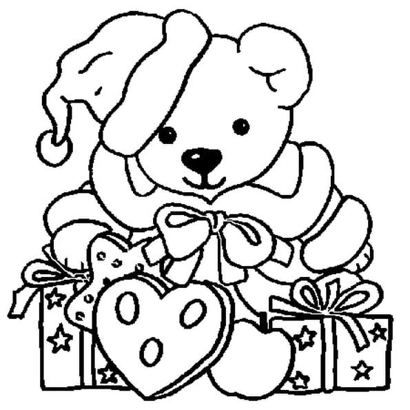 Coloriage Animaux Noël En Ligne Gratuit À Imprimer destiné Coloriage En Ligne Gratuit