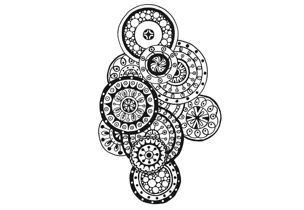 Coloriage Anti-Stress Et Mandala Gratuits Pour Adulte intérieur Coloriage Mandala Anti Stress