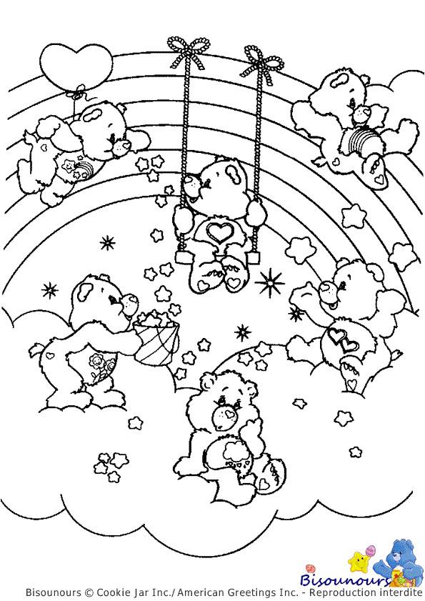 Coloriage Arc En Ciel À Imprimer | Danieguto à Coloriage Arc En Ciel Poisson
