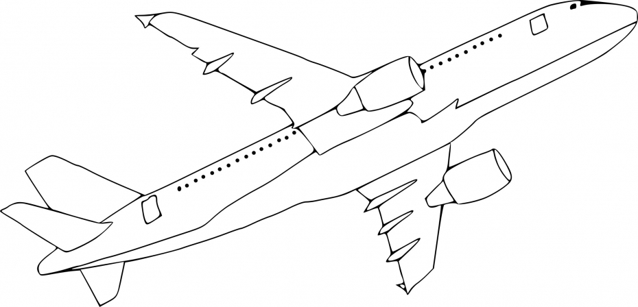 Coloriage Avion A380 À Imprimer Sur Coloriages à Coloriage Avion