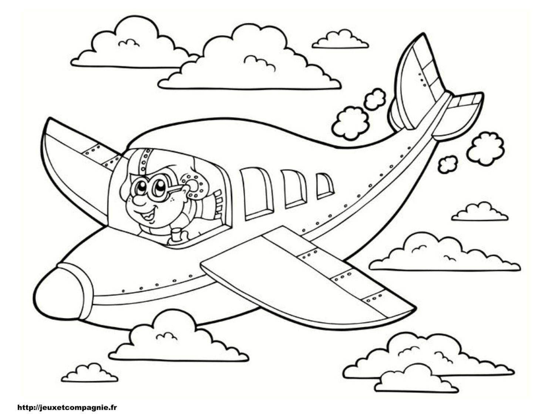 Coloriage Avion Bebe | Coloriage Avion, Coloriage Enfant concernant Coloriage Pour Garçon De 8 Ans